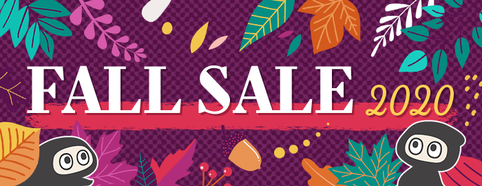 TOM Shop Fall Sale