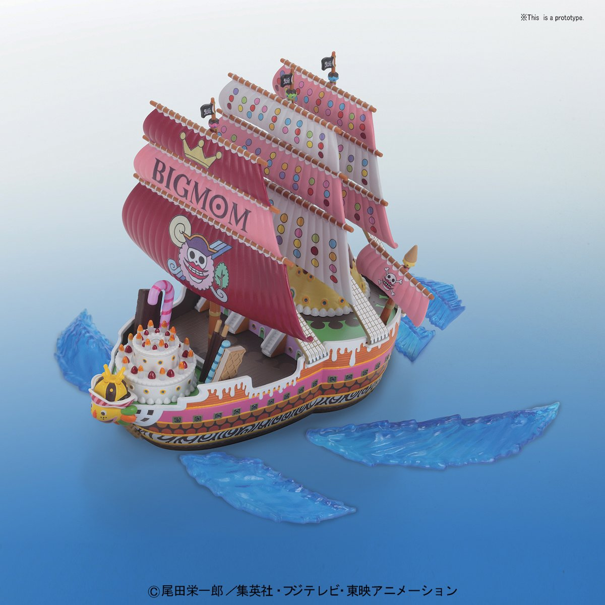 One Piece Grand Ship Collection: Big Moms Pirate Ship ...