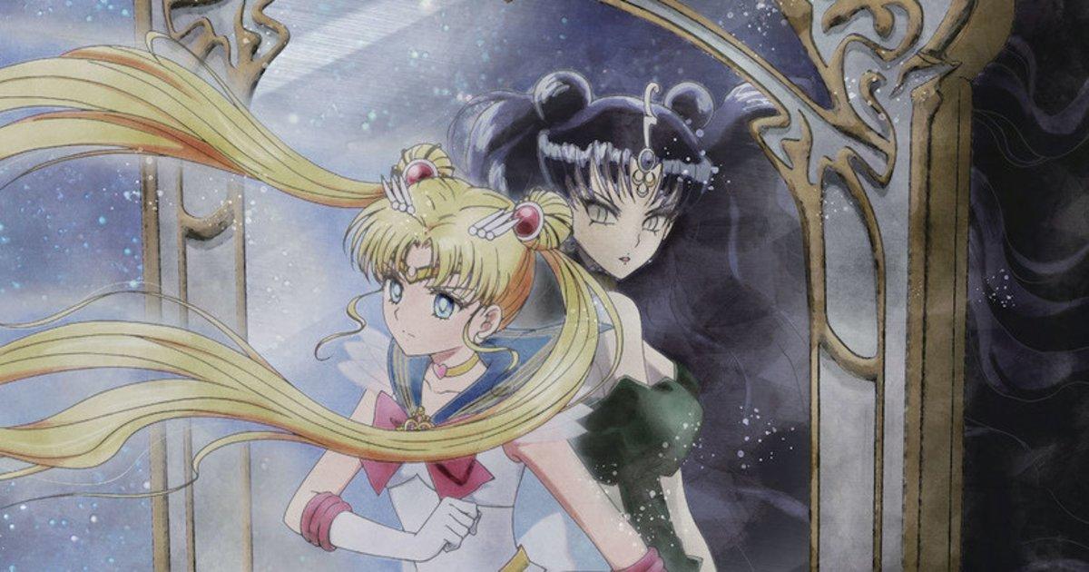 Eternal 2021 Sailor Moon B5 Chirashi Japan Movie Poster Japanese Anime