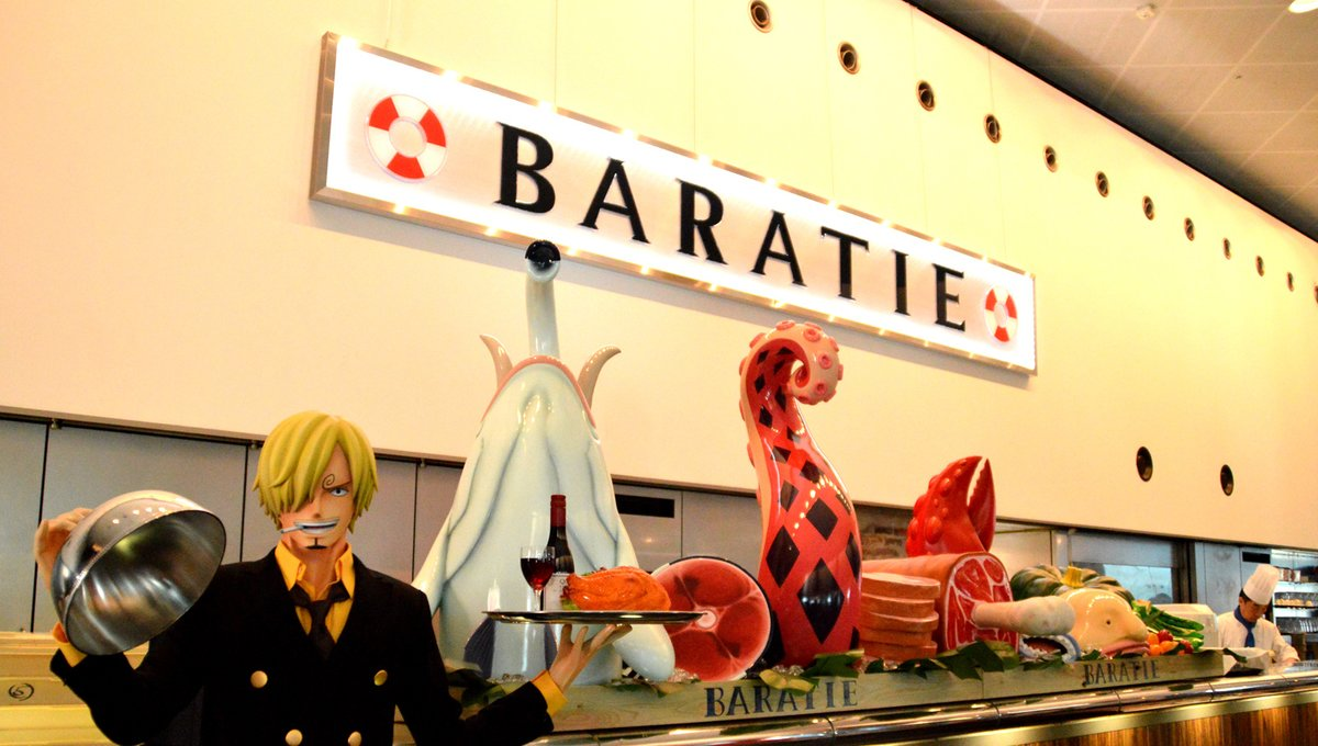 One Piece Restaurant Baratie Opens In Odaiba Featured News Tom Shop Figures Merch From Japan
