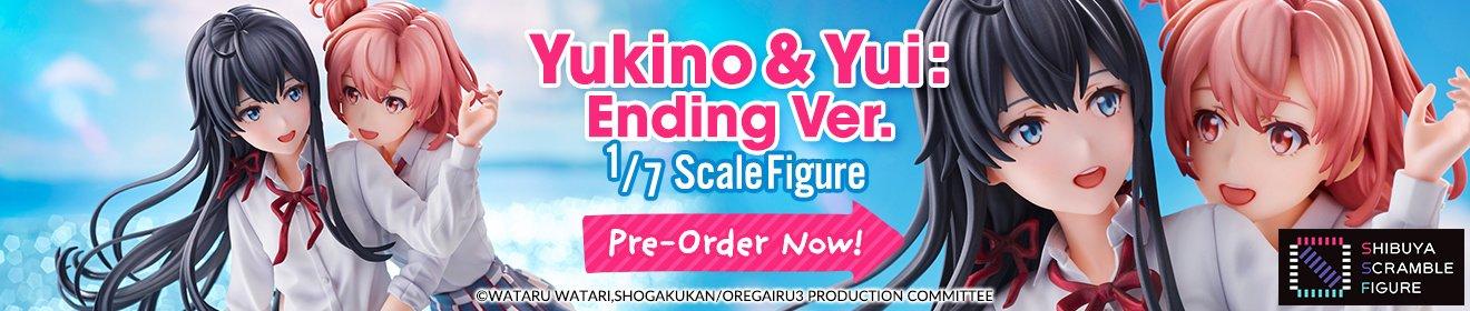[eStream] Yukino Yukinoshita and Yui Yuigahama: Ending Ver. 1/7 Scale Figure