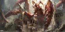 Pathfinder----Mantis God, Achaekek