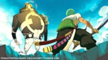 One Piece-Kuma Vs Zoro