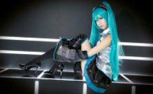 Miku Hatsune Cosplay(VOCALOID)