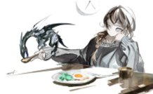 Breakfast with My Dragon