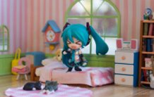 Miku 2.0 rockin' out in her bedroom