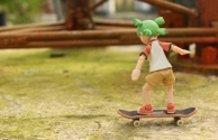 Skateboard 101 with Mini-Danboard and Yotsuba