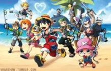 Kingdom Hearts X One Piece