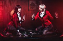 Jabami Yumeko (Kakegurui - Compulsive Gambler) Cosplay by Calssara
