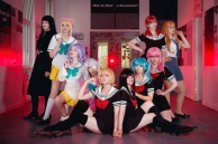 Mahou Shoujo Site Cosplay Group