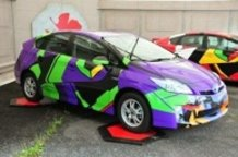 Evangelion and Miku-themed Cars Appear at D1 Grand Prix!