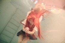 Asuka Langley Under Water