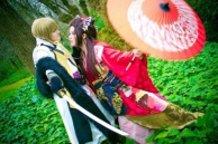 Hakuouki - Kazama and Chizuru