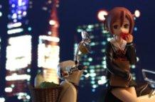 Haruno in the city