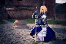 Saber (Fate/Zero) Cosplay by Calssara
