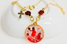 【PUELLA MAGI MADOKA MAGICA】 Kyoko motif accessories