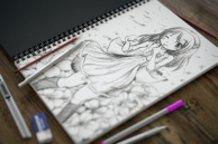 """Sketch my little sister """"Asakura Sakura"""""""