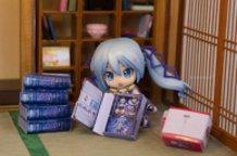 Nendoroid Snow Miku 2014 with Nendoroid Snow Miku