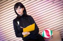 Kiyoko Shimizu (Haikyuu) Cosplay by Calssara