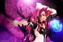 Ahri [Challenger Ahri ] : League of Legends cosplay