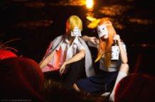 Human and youkai duet