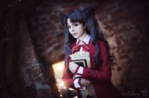 Rin Tohsaka (Fate/Stay Night) Cosplay by Calssara