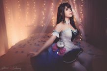 Uzuki Shimamura ~Starlight stage~ (Idol Master Cinderella Girls) Cosplay by Calssara