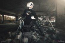 2B (Nier Automata) Cosplay By Calssara