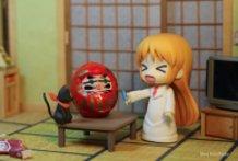 """Hakase """"fixes"""" Nano's Daruma doll"""