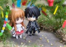 Kirito and Asuna on Tanabata