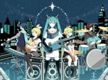 Lightning Miku Band