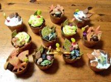 Pikmin Cupcakes