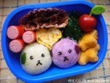 Mameshiba ☆ Edamame and Red Bean
