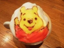 "3D Latte Art ""Winnie-the-Pooh"""
