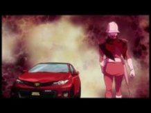 Toyota and Char Aznable from Gundam Collaborate!