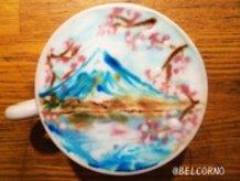 LatteArt of Mt.Fuji