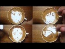 "Today's Leisure Time Cappuccino, ""Naruto"""
