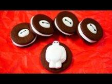 Big Hero 6 Baymax Marshmallow Cookie Recipe