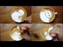 """Today's Leisure Time Cappuccino, """"Baymax @ Big Hero 6"""""""