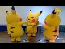 """Pikachu Outbreak"" August 2015 - Everyone Dancing with Pikachu!"