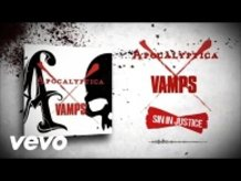 APOCALYPTICA X VAMPS - SIN IN JUSTICE (LYRIC VIDEO)