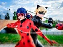 Ladybug and Chat Noir!