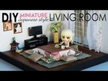 DIY Dollhouse (Original) Kotatsu Living Room Set - Japanese Style