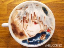 Latte Art [Nagisa Kaoru] Evangelion