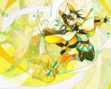 Mythological fox spirit