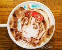 Latte Art [Sougo Okita] Gintama