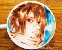 Latte Art [Sasuke Uchiha] Naruto