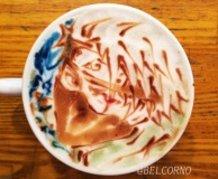 Latte Art [Kakashi Hatake] Naruto