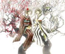 Red Plum Blossoms, White Plum Blossoms