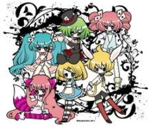 Vocaloids in Wonderland